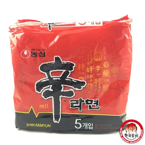 辛拉麵(5入)